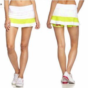 New Nike Tennis Skirt Skort White Dri Fit Small